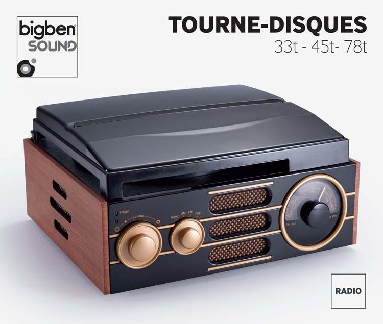 Tourne-disques «Vintage» – Visuel