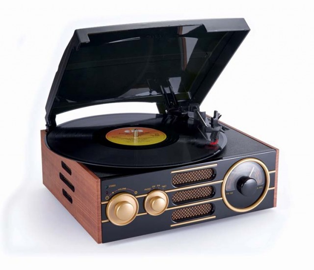 Tourne-disques «Vintage» – Packshot