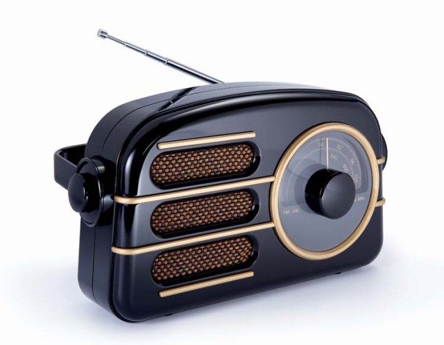 Radio portable « Vintage » – Packshot