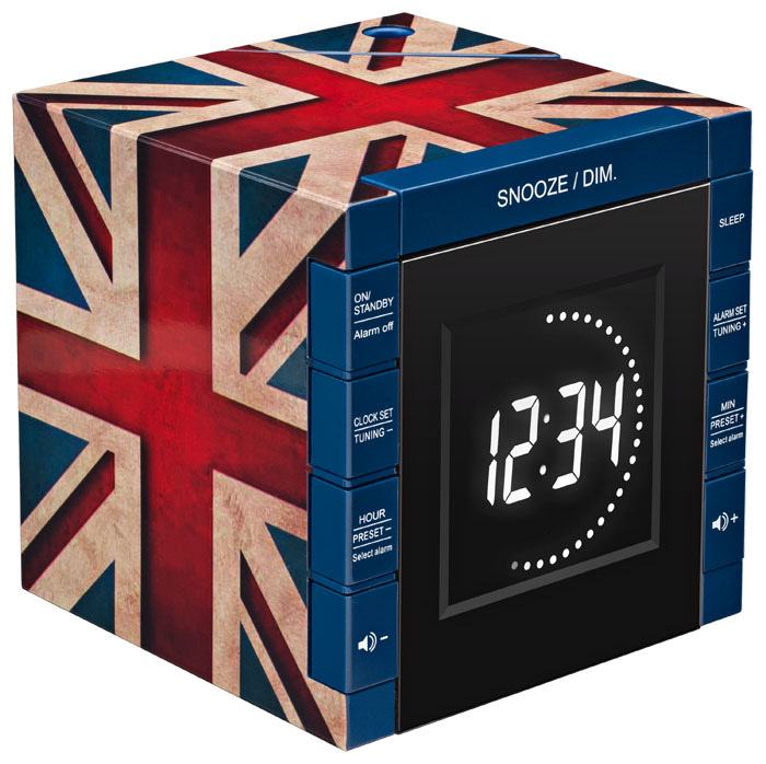 Radio réveil RR70 «Great Britain» – Visuel #1