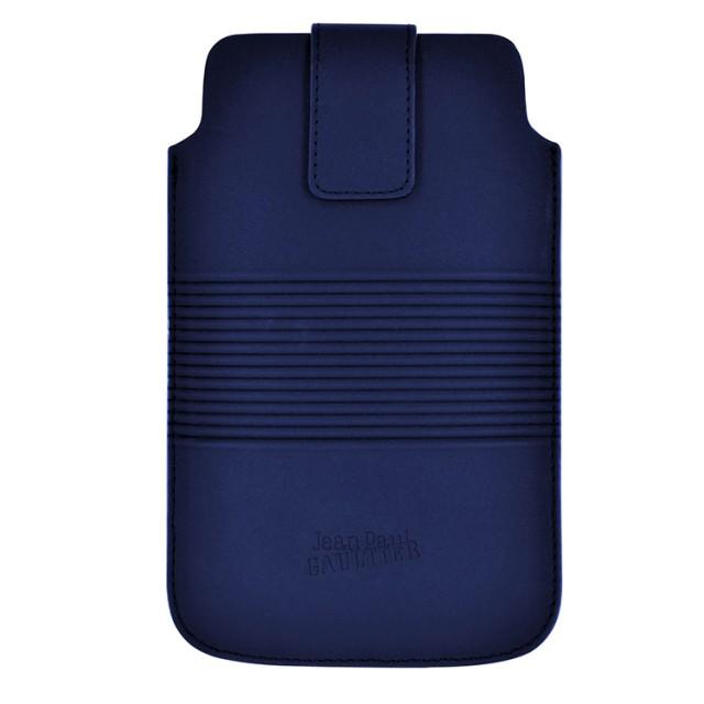 """Etui de protection """"Conserve"""" Jean Paul Gaultier (Bleu) - Packshot"""
