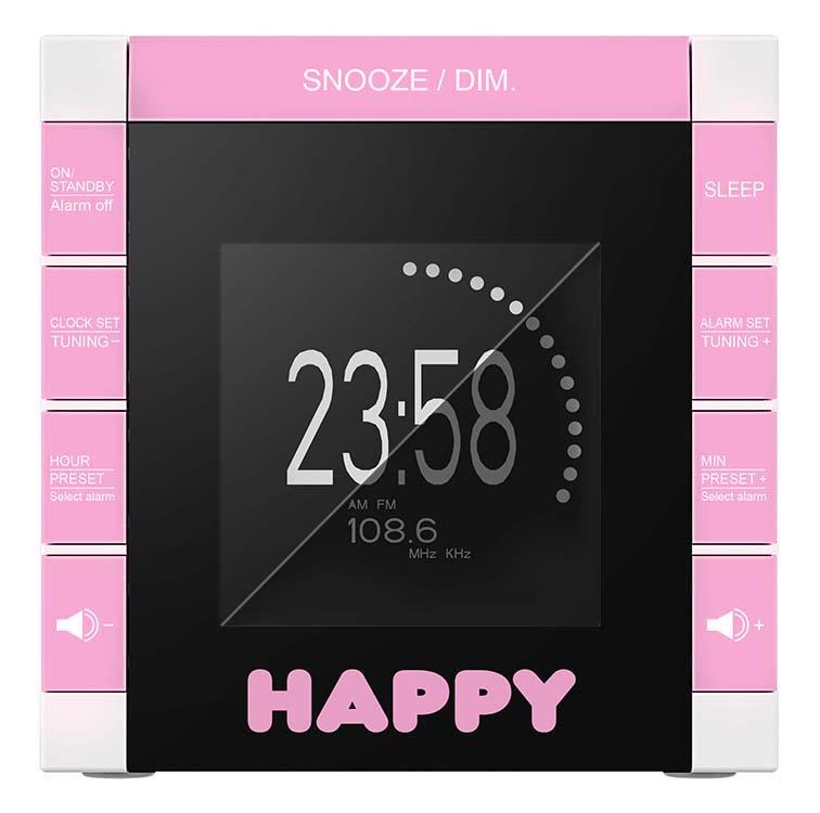 "Radio réveil ""Happy Cube"" - Visuel #4"
