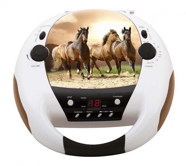 Lecteur CD Portable «Horses» – Packshot