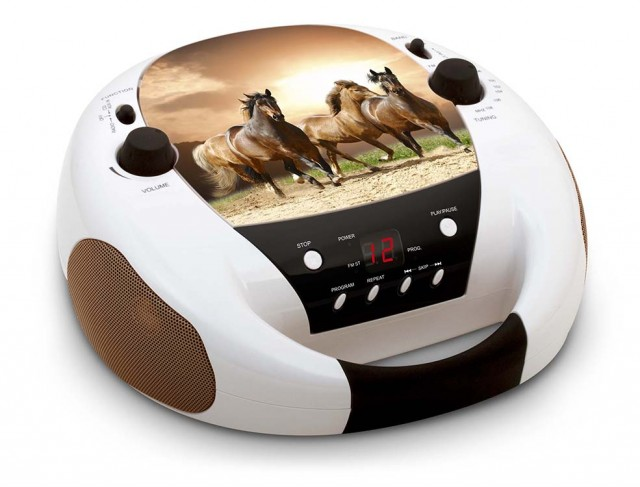 Lecteur CD Portable «Horses» – Visuel #1