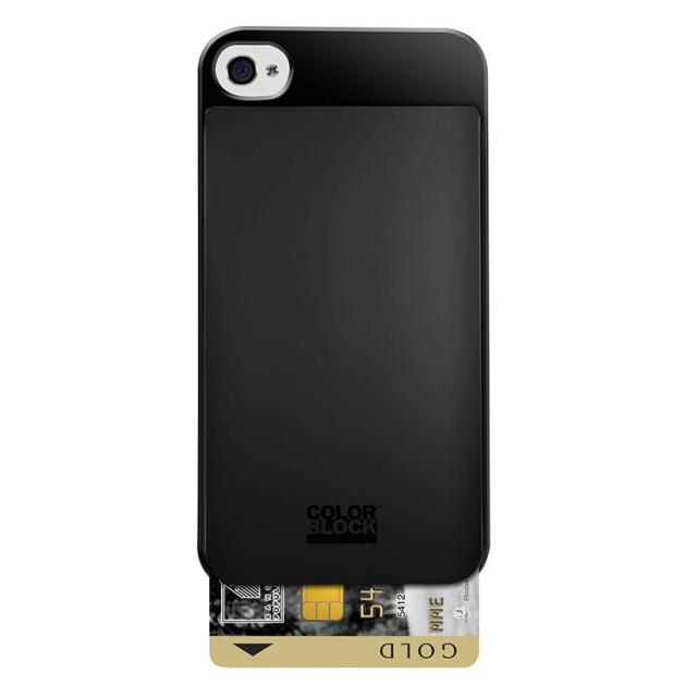 Coque de protection Colorblock avec porte carte intégré (Dark Night) - Packshot