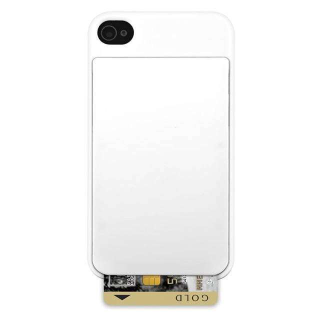 Coque de protection Colorblock avec porte carte intégré (Arctic White) - Packshot