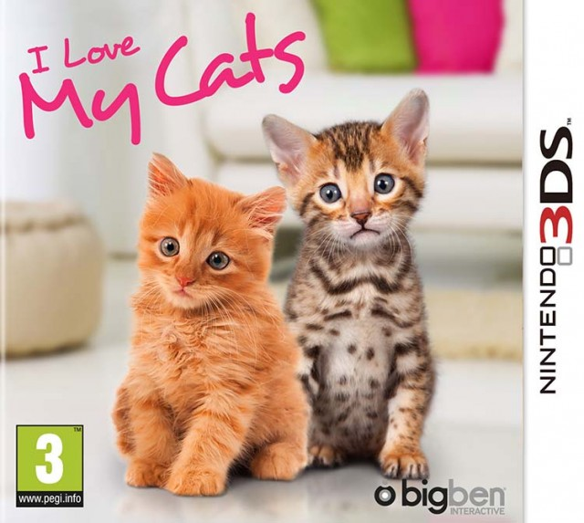 I Love My Cats - Packshot