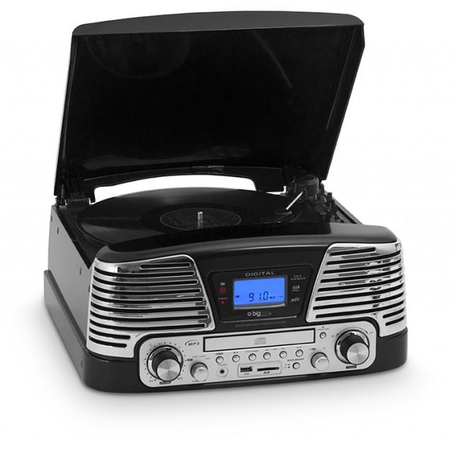 Tourne-disques encodeur TD79 (Noir) - Packshot