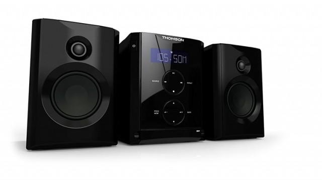 Micro-Chaîne CD/MP3/USB (Noir) - Packshot