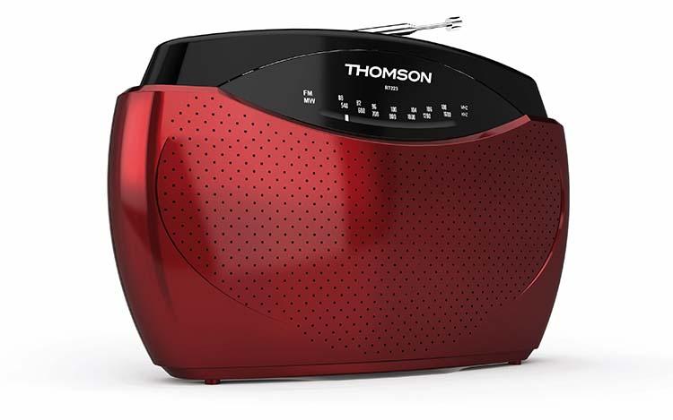 radio de poche rouge rt223 thomson bigben fr sound accessoires gaming mobile tablette. Black Bedroom Furniture Sets. Home Design Ideas