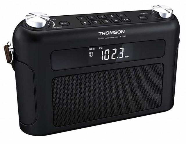 Radio Portable 4 Bandes (Noir) - Packshot