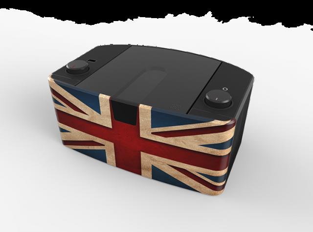 lecteur cd portable on the go bleu uk cd57ukusb. Black Bedroom Furniture Sets. Home Design Ideas