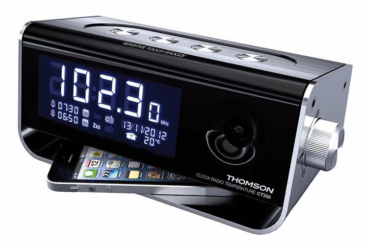 radio r veil bicolore ct350 thomson bigben fr sound accessoires gaming mobile tablette. Black Bedroom Furniture Sets. Home Design Ideas