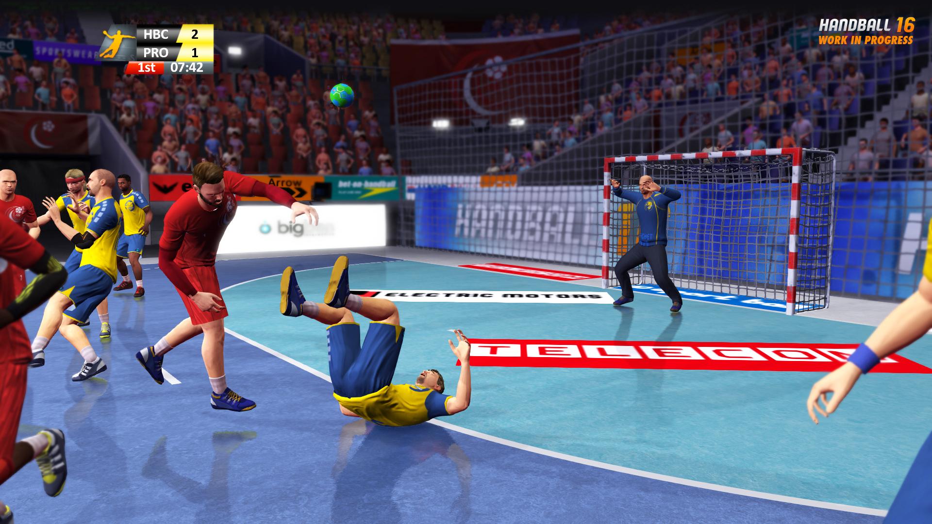 handball 16 bigben fr sound accessoires gaming. Black Bedroom Furniture Sets. Home Design Ideas