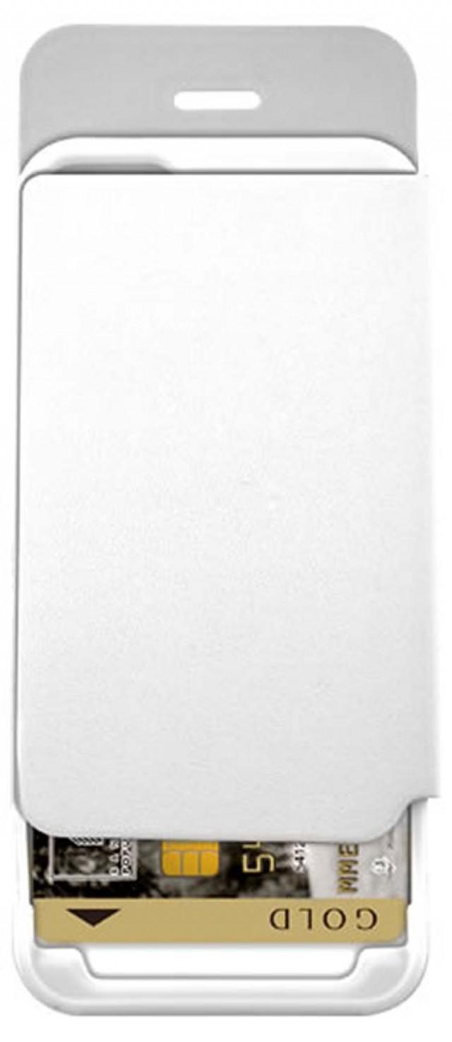 Etui folio Colorblock avec porte-cartes intégré (Artic White) - Packshot