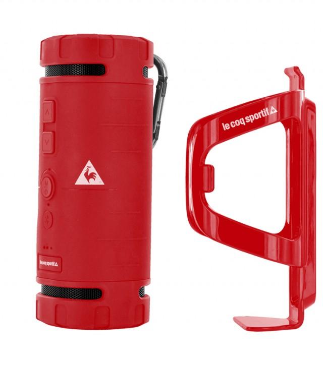 Enceinte Bluetooth® Le Coq Sportif 'Core' (Rouge) - Packshot