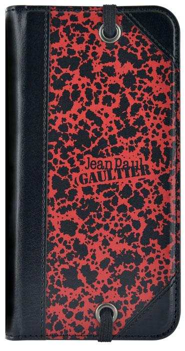 Etui folio Jean-Paul Gaultier Militaire» (Rouge)» - Packshot