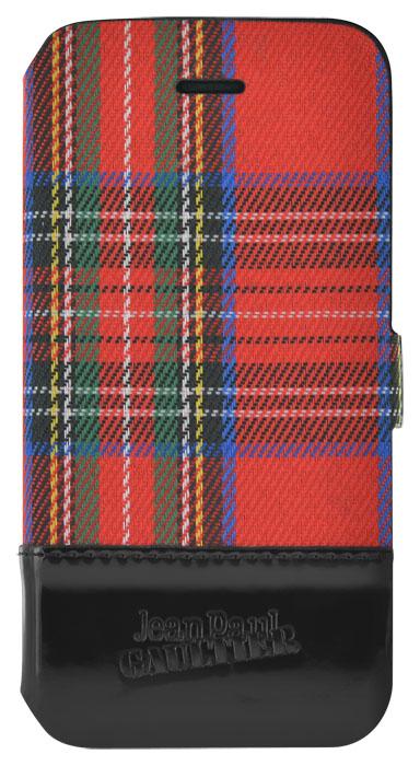 Etui Folio Tartan Jean-Paul Gaultier (Rouge) - Packshot