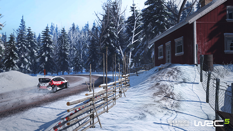 WRC 5 – Capture d'écran