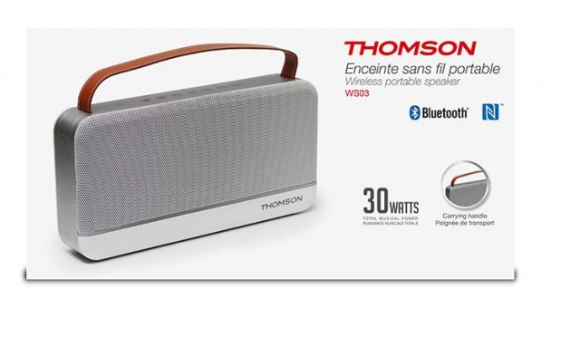 Enceinte sans fil portable Thomson – Visuel #1