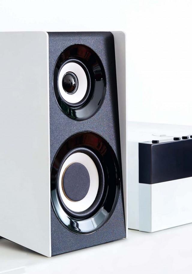 Micro-chaîne CD/MP3/USB Thomson - Packshot