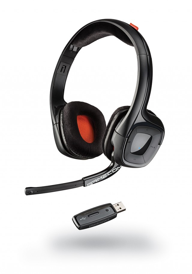 Casque Plantronics Gamecom P80 - Packshot