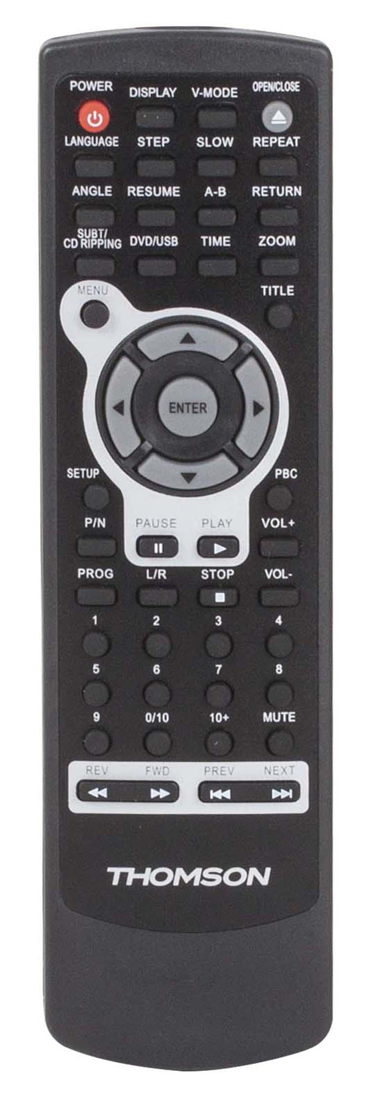 lecteur dvd dvd130h thomson bigben fr sound accessoires gaming mobile tablette jeux vid o. Black Bedroom Furniture Sets. Home Design Ideas