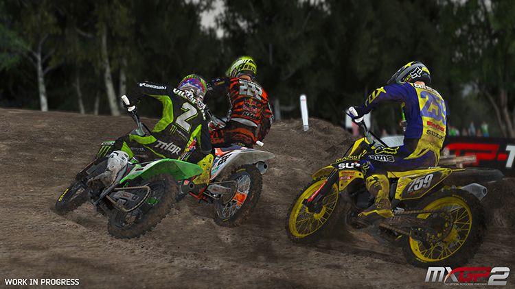 MXGP 2 – Capture d'écran