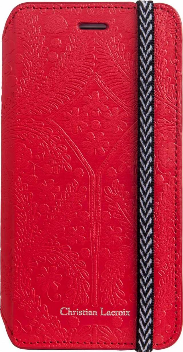 Étui Folio Christian Lacroix «Paseo»(Rouge) - Packshot
