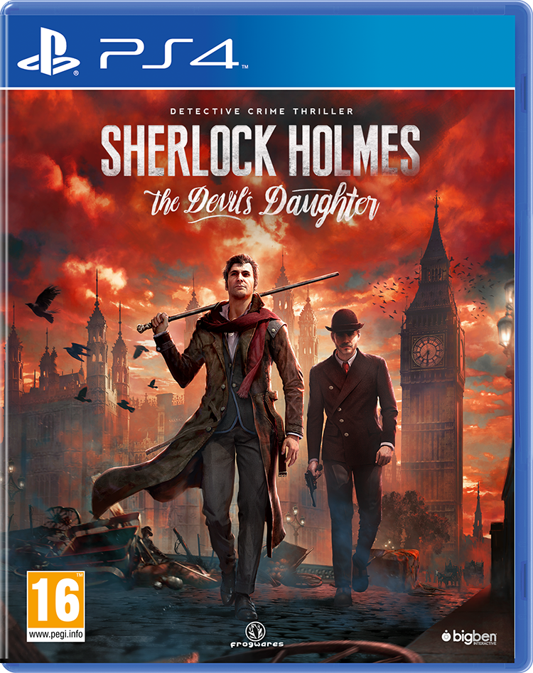 Sherlock Holmes : The Devil's Daughter - Packshot