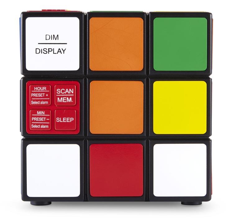 Radio réveil Rubik's® - Visuel