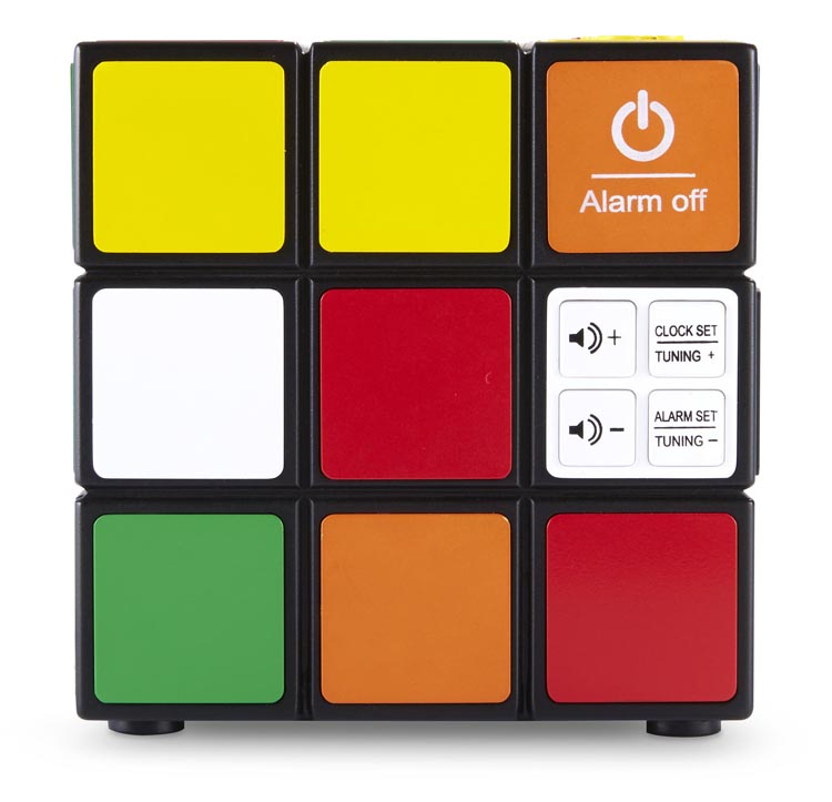 Radio réveil Rubik's® - Visuel #1