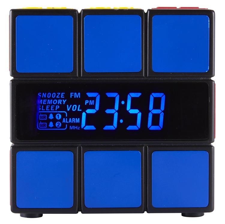 Radio réveil Rubik's® - Visuel #2