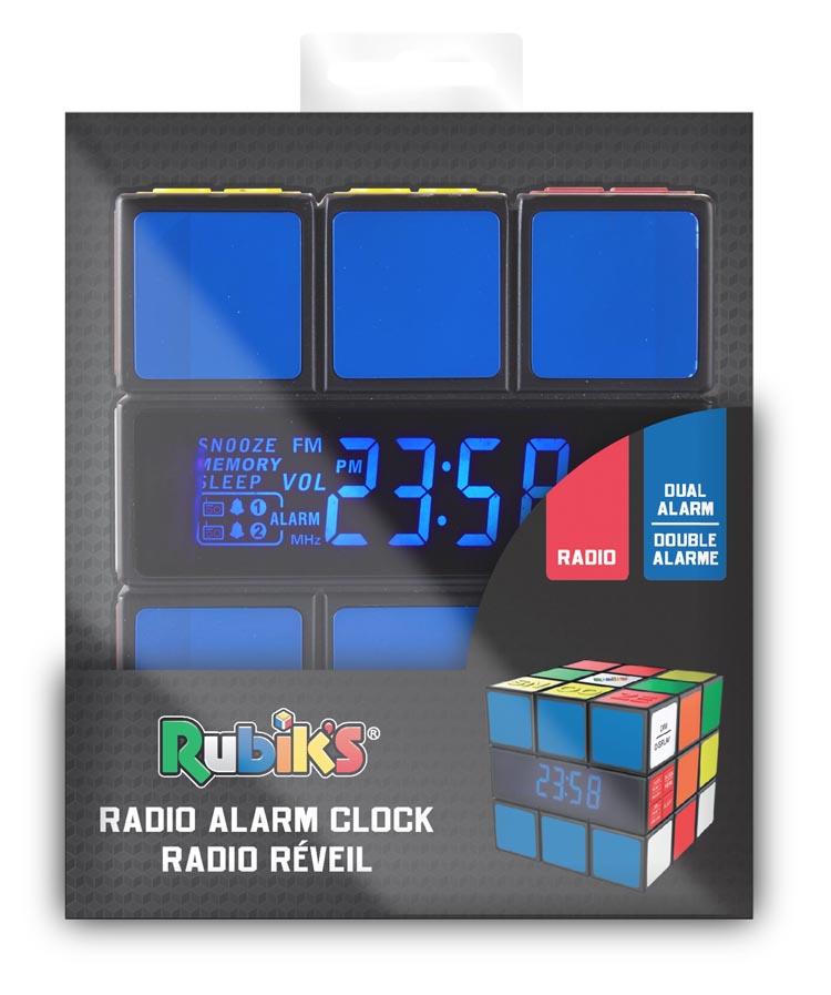 Radio réveil Rubik's® - Visuel #3