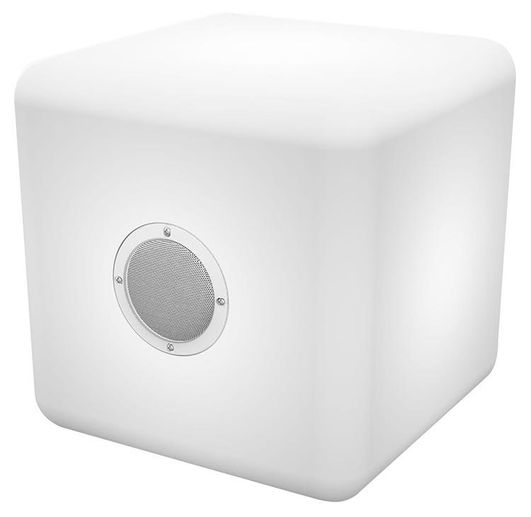 Enceinte outdoor lumineuse sans fil COLORBLOCK «Color Cube» - Packshot