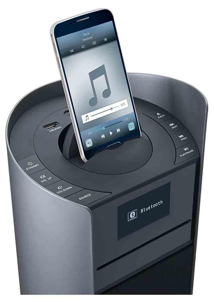 tour multim dia 2 1 ds500grey thomson bigben fr sound accessoires gaming mobile tablette. Black Bedroom Furniture Sets. Home Design Ideas