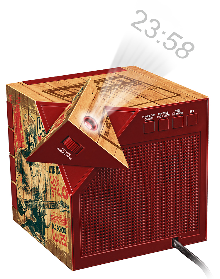 Radio réveil avec projecteur RR70PROCKWOOD BIGBEN   Bigben FR ... dbe1d19d3757