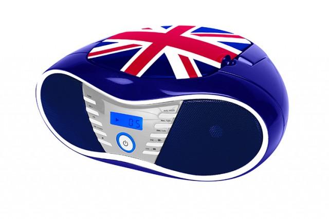 Radio CD CD58 Great Britain - Packshot