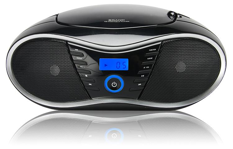 Lecteur radio FM CD/MP3 - Packshot