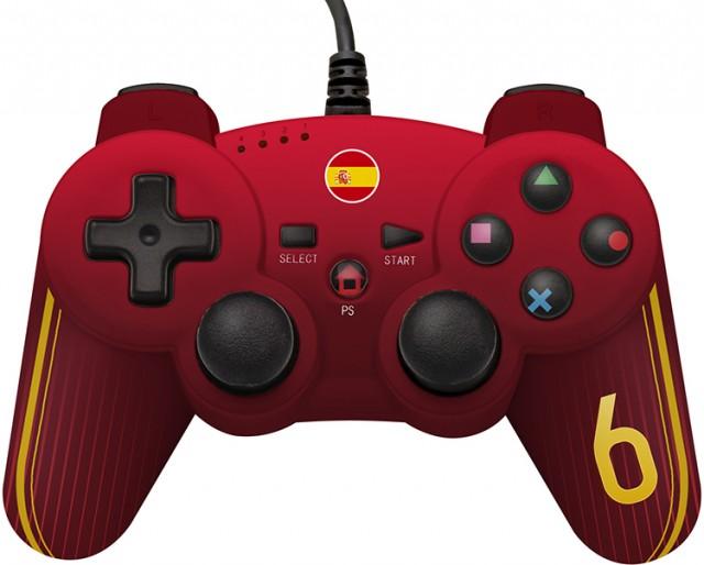 Manette filiaire pour jeux PS3™ édition limitée football - Packshot