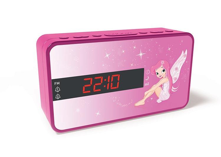 Radio réveil double alarme Fairy - Packshot