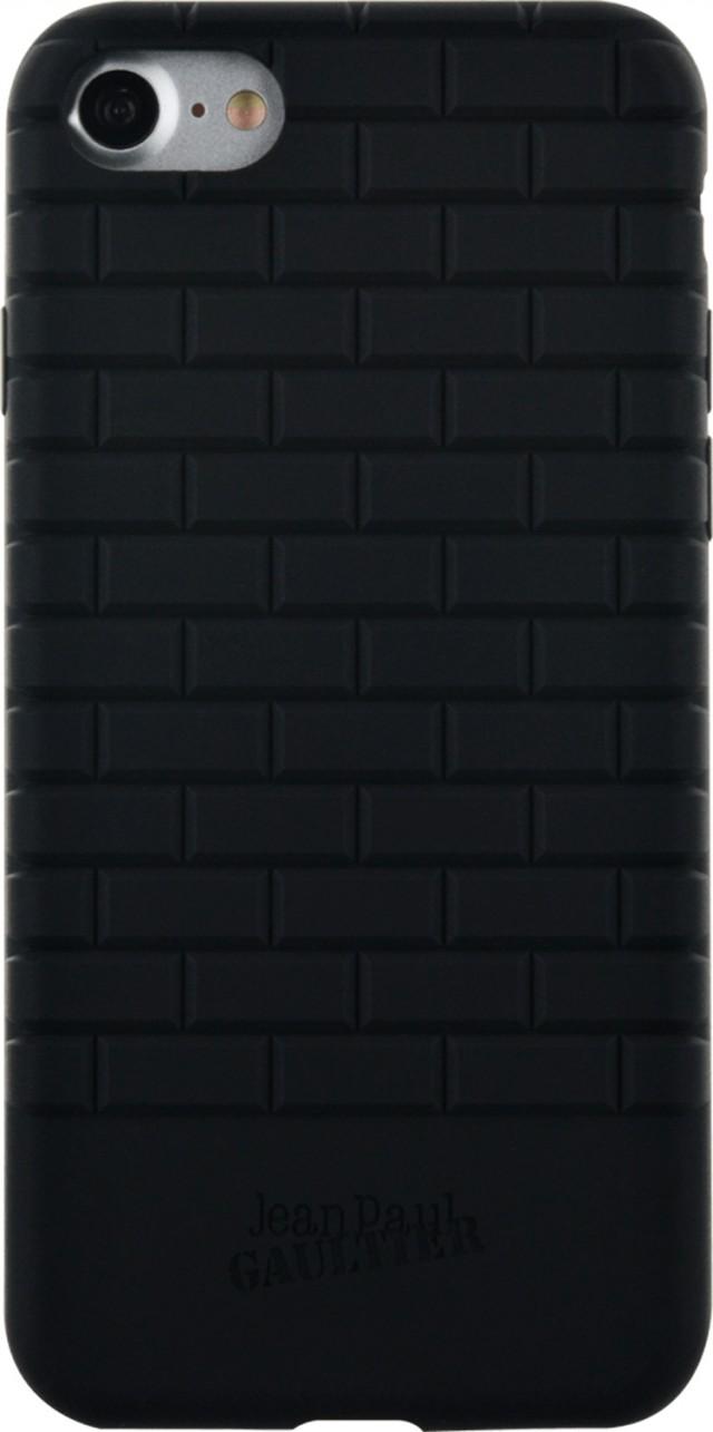 Coque semi-rigide briques Jean Paul Gauthier (Noire) – Packshot