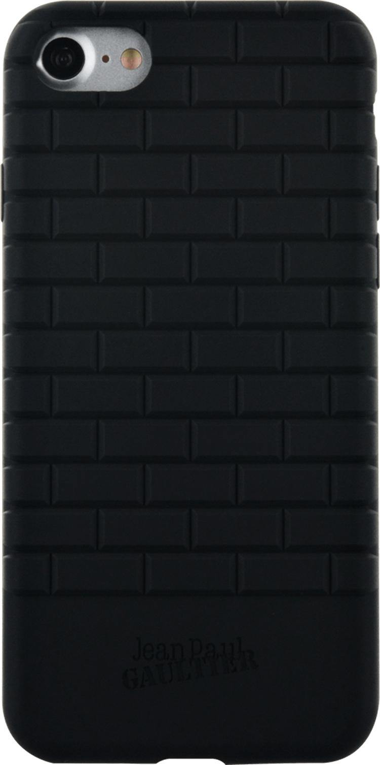 Coque semi-rigide briques Jean Paul Gauthier (Noire) - Packshot