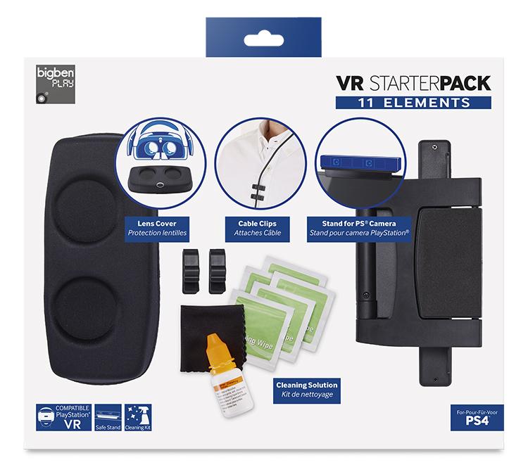 Pack 11 éléments pour entretien du casque VR - Packshot
