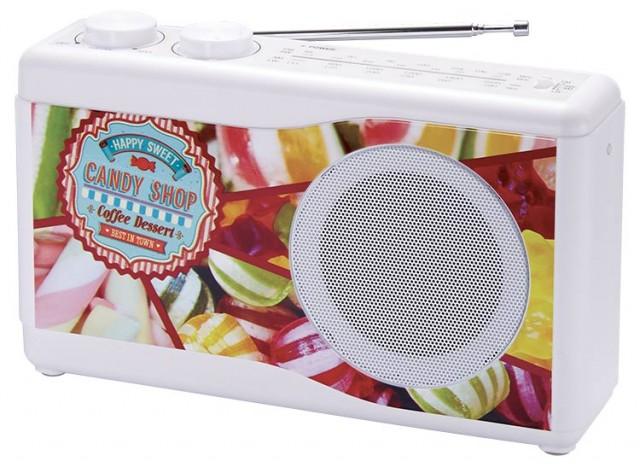 Radio portable (motifs) - Packshot