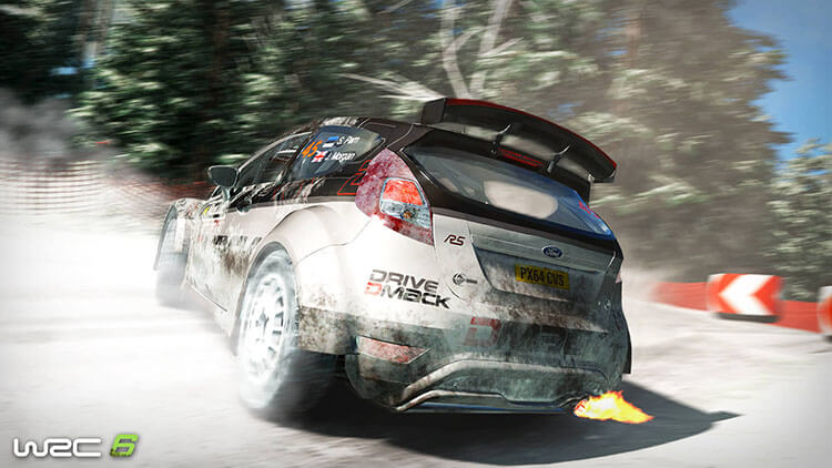 WRC 6 - Capture d'écran
