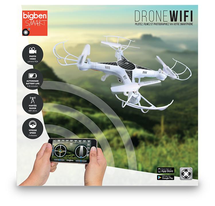Drone WI-FI avec caméra VGA - Visuel #4