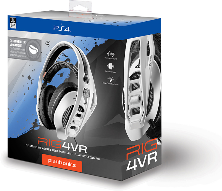 Casque PLANTRONICS officiel Sony RIG4VR - Visuel #6