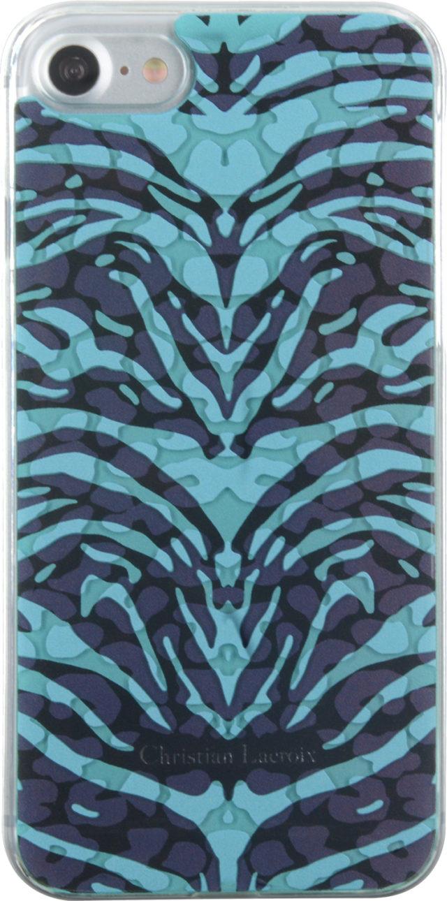 Coque Christian Lacroix «Pantigre» (Turquoise) - Packshot