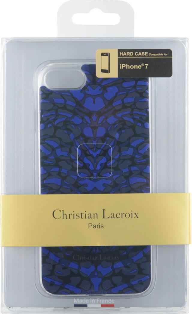 Coque Christian Lacroix «Pantigre» (Bleue) – Visuel
